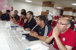 Türkiye İşitme Engelliler Basketbol Şampiyonası Bafra'da başladı.13357