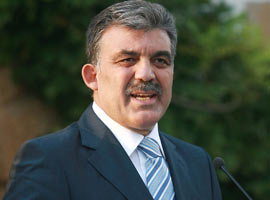 Abdullah Gül: Türkiye'nin hedefi terör örgütünü bitirmektir.9935
