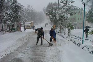 Şiddetli kar uyarısı yapıldı.25611