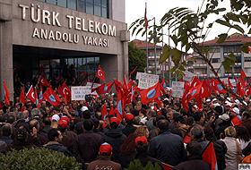 Telekom'daki grev Haber-İş'e çok pahalıya patladı!.86654