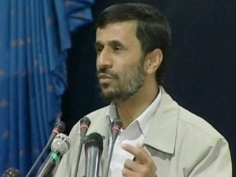 Ahmedinejad: