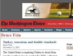 Washington Times ABD ve Bush hakkında ağır yazdı.11156
