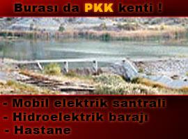 PKK, K Irak'ta resmen 'organize' olmuş. İşte PKK'nın barajı!.18316