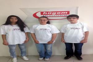 HÜGEM Anafen TEOG sınavında 3 öğrenci Türkiye birincisi çıkardı.9673