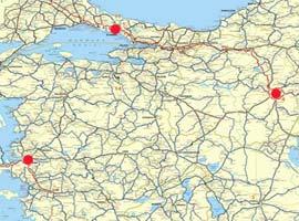 İstanbul trafiğini rahatlatacak 6 otoyolun güzergahı belirlendi.18070