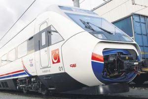Hızlı tren Ankara'ya gidiyor.12592