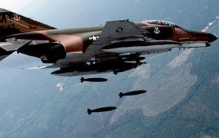 Bombard�man pilotlar� operasyon provas�nda!.12434
