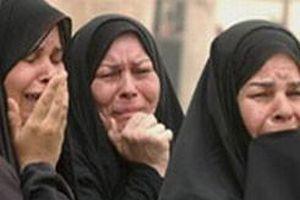 Iraklı kadınların ölüm makyajı.10407