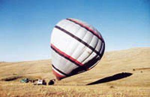 ABD'de sıcak hava balonu düştü: 2 ölü.9981