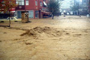Tekirdağ'da sel baskınları! 1 kişi öldü.14091