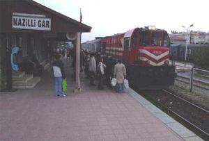 Aydın'daki tren kazasında feci ölüm.9988