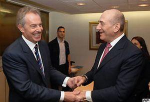 Tony Blair, Filistin'i canlandıracak projeyi açıkladı.12612