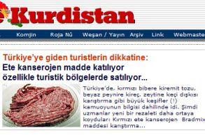 Kürt siteleri Türkçe bilmeyen turistleri Türkçe uyardılar!.20213
