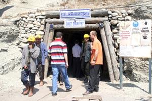 Tünel inşaatında göçük: 1 ölü, 2 yaralı.21843