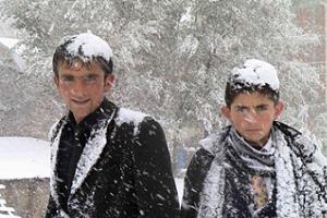 Bağdat ilk kez karla tanıştı .18150