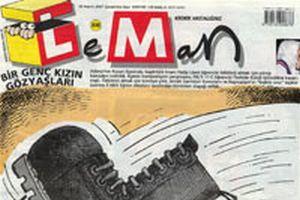 Leman'ın kapağında başörtülü kız!.16661