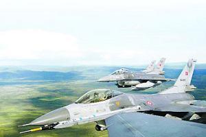 F-16'ların 2. kez Kuzey Irak'ı bombaladığını duyuruldu!.9462