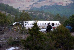 Isparta'da düşen uçakla ilgili çelişkili açıklamalar.14485