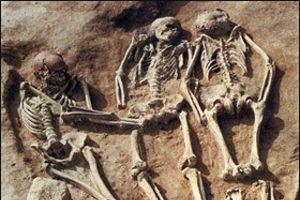 Moskova'nın göbeğinde toplu mezar bulundu.20080