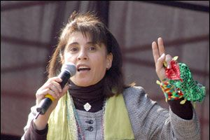 Leyla Zana, savcılıkta ifade verdi.13801
