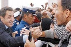 Sarkozy, Cezayir ziyaretini