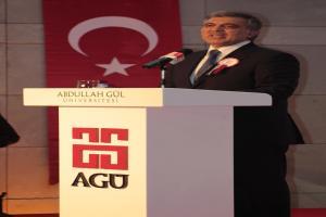 Abdullah Gül: Eğitim, en önemli konularının başında geliyor.8573
