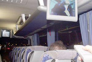 Sivas polisini alarma geçiren otobüs.11338