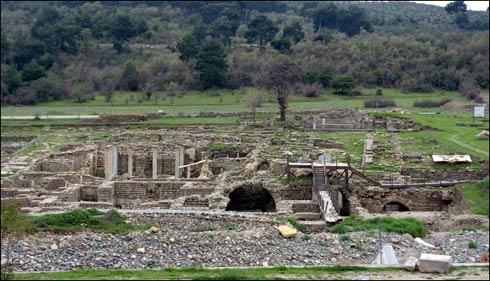 Allianoi Antik Kenti sular altında kalıyor.40278
