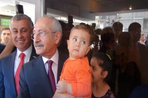 CHP Lideri Kılıçdaroğlu: Sel zararların karşılanmasının takipçisi olacağız.11490
