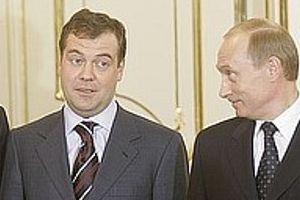 Rusya, istikrar için Medvedev'e oy veriyor  .12377