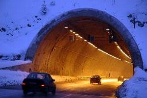Bolu tünelinde bir ayda 30 kaza.12842