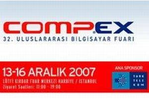 COMPEX Uluslararas� Bilgisayar Fuar� a��ld�.12425