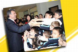 Gül, Kazakistan'da 'gururlu' .13798