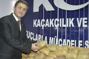 Bir yılda PKK'ya ait 2 ton uyuşturucu ele geçirildi .13565