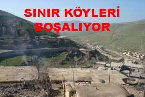 Sınır bölgesinde yaşayan Kürt köylüleri kaçmaya başladı.47513
