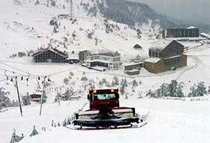 Kartalkaya'da kar kal�nl��� 8 santimetre.16597
