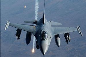 F-16'lar, sınır boyunda sızmalara karşı keşif uçuşu yapıyor.9010