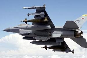 19 adet F-16 u�a�� Diyarbak�r'dan havaland�.9205