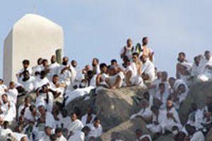 Kutsal topraklarda büyük heyecan; hacılar Arafat'ta!.12589