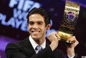 2007'nin en iyi futbolcusu Kaka.9484