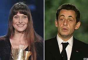Sarkozy-Bruni çiftinin skandal görüntülerinin 2. perdesi.13322