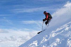 Uludağ'da kar kalınlığı 4 santimetreye ulaştı.9557