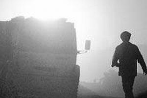 Kamyonun freni patladı: 2 ölü.6429