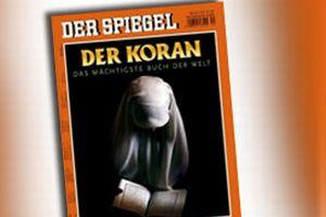 Alman Der Spiegel, Kur'an-ı Kerim'i kapak konusu yaptı.10361