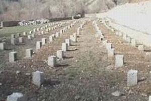 Barzani'nin bölgesinde terör örgütü PKK'nın kabristanı.12778