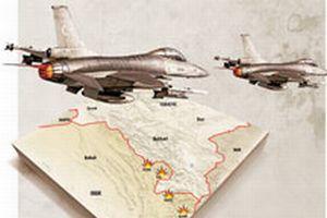 F-16'lar K.Irak'a uçtu.11236