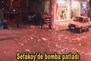 Sefaköy'de patlama oldu: 4 yaralı.14608