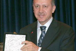 Erdoğan'a 'Köprüler İnşa Etmek' ödülü.8822
