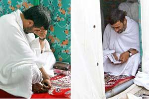 Ahmedinejad hacda gözyaşı döktü.12034