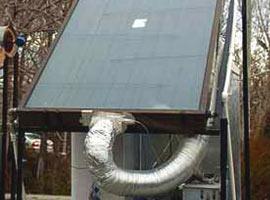 Güneş enerjisiyle çalışan buzdolabı.14087